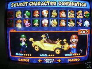Mario Kart Double Dash Gamecube Memory Card UNLOCKED