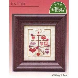 Love Tree   Cross Stitch Pattern Arts, Crafts & Sewing