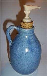 NC Pottery Old Fort John Garrow 89 Soap Pump Dispenser