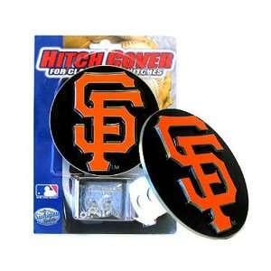 San Francisco Giants MLB Logo Round Hitch Cover