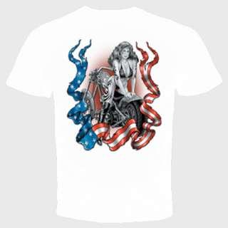 girl bent over bike biker motorcycle sexy cool t shirt