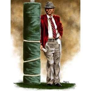 Large Paul Bear Bryant Alabama Crimson Tide Giclee