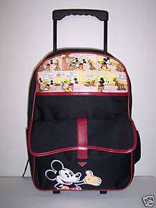 Mickey Mouse Large Roller School Backpack