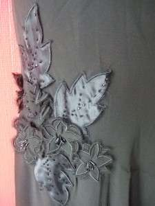 CACHE black 1 shoulder EMBELLISHED formal gown FULL LENGTH DRESS new
