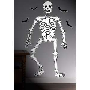 Destination Halloween Skeleton Giant Wall Decals: Everything Else