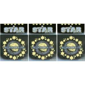 Glow In The Dark Stars & Moons Stickers (432 stickers total) Toys