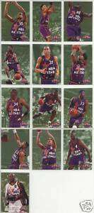 Fleer 95 96 All Star Weekend Grant Hill ONeal 13 card