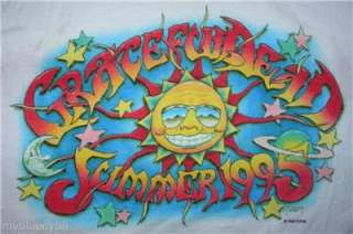 Grateful Dead T Shirt  VTG Style 1995  Farewell Tour