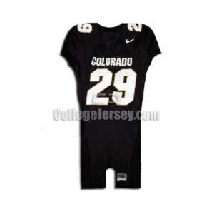 No. 29 Game Used Colorado Nike Football Jersey