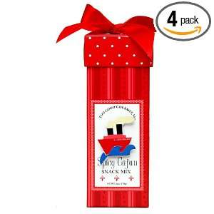 Too Good Gourmet Everyday Snack Mix Spicy Cajun In Red Gift Box, 6