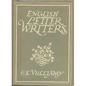English Letter Writers: C. E. Vulliamy: Books