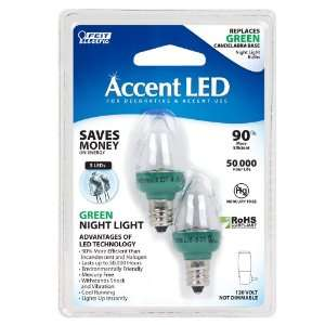 BPC7/G/LED LED Replacement Night Light, Green