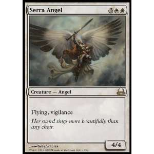 Magic the Gathering   Serra Angel   Duel Decks Divine vs