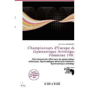 Championnats dEurope de Gymnastique Artistique Féminine