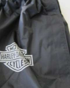 harley davidson shoe boot covers genuine black rain protector