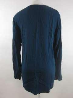 EILEEN FISHER Green Long Sleeve Cardigan Shirt Top Sz S