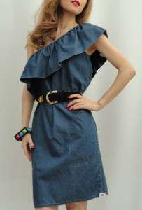 Get summer ready with this Moschino Cheap & Chic denim cotton dress