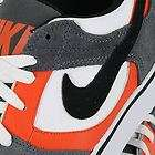 NIKE TWILIGHT LOW SE DARK GREY WHITE ORANGE MENS US SIZE 9.5, UK 8.5
