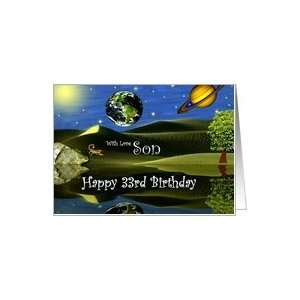 Birthday ~ Son / Age Specific 33rd ~ Planet Taro Card: Toys & Games