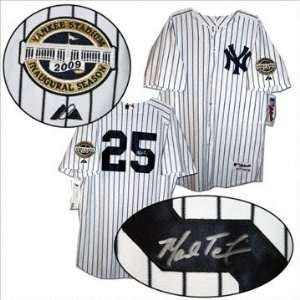 Mark Teixeira Autographed Jersey New York Yankees Home Majestic