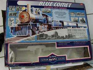 Bachman Blue Comet Atlantic City Express Big Haulers G scale Electric