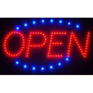 OPEN Monocolor Window Display LED Message Sign Electronics