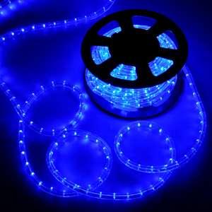 50 2 Wire LED Rope Light In/Outdoor Lighting Home Christmas
