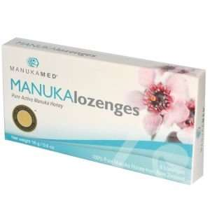 MANUKALozenges, Pure Active Manuka Honey, 8 Lozenges, 0.6