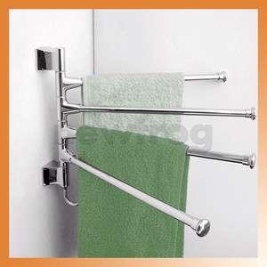 Stainless Steel Polished Towel Rack Holder Kitchen Bathroom Hardware