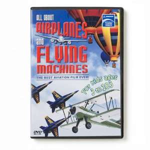 All About Airplanes & Flying Machines DVD