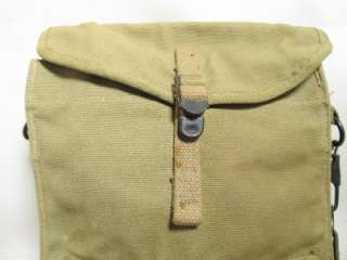 US MEDIC POUCH w/ STRAP WEB GEAR AIRBORNE PARATROOPER MEDICAL