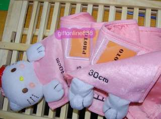 Hello Kitty children body height measure ruler plush