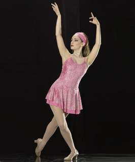 STYLE Ice Skating Dress PINK Dance Costume SIZE CHOICE