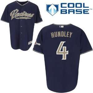 Nick Hundley San Diego Padres Authentic Alternate Cool Base Jersey By