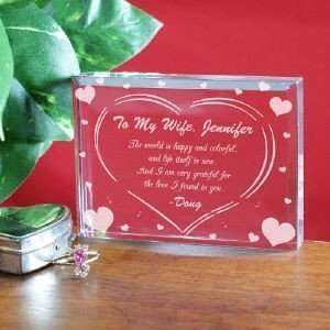 Personalized Valentines Day Keepsake The Love I Found