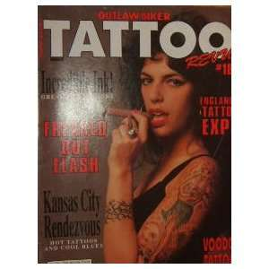 Outlaw Biker Tattoo Revue Magazine Voodoo Tattoos (April