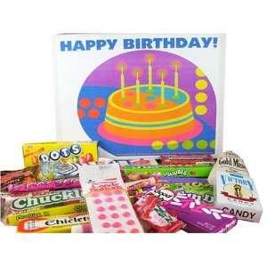 Happy Birthday Gift Box of Retro Grocery & Gourmet Food
