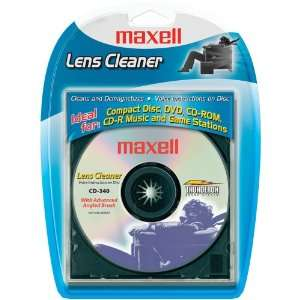 NEW MAXELL 190048 CD/CD ROM/DVD LASER LENS CLEANER (190048