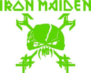 Iron Maiden The Final Frontier Vinyl Decal