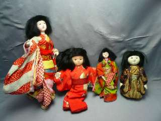 Japanese dolls#Four Cute Dolls Taisyo era#0926
