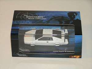 43 Minichamps Lotus Esprit Submarine   James Bond