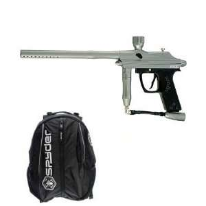 Silver Semi Auto Paintball Marker Backpack Package