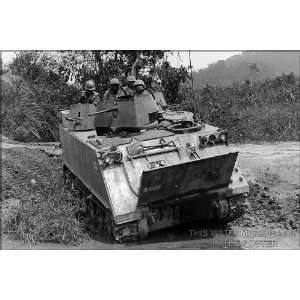 M113, Armored Personnel Carrier APC, Vietnam 1966   24x36