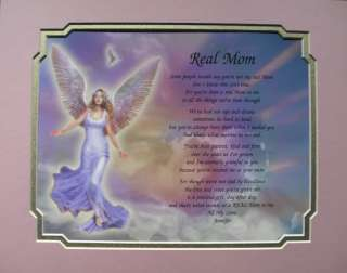 REAL MOM PERSONALIZED POEM FOR STEPMOM GREAT GIFT