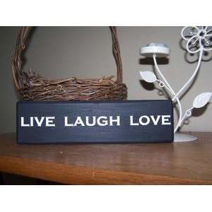 Wall Decor Live Laugh Love 5 By CreateYourWoodSign
