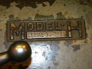 Kearney & Trecker Corp Horizontal Milling Machine Model H 10X50 Inch