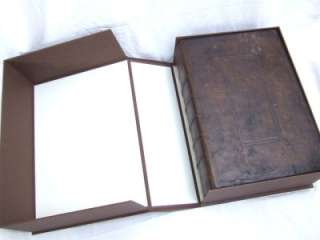 The GREAT SHE BIBLE * 1st Edition * King James Bible * Fine Binding