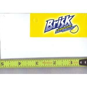 Magnum, Small Rectangle Size Brisk Lemonade LOGO Soda Vending Machine