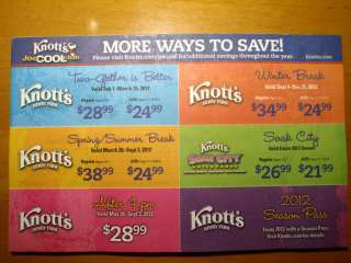 AdEnjoy free admission to Knott's Berry Farm, Discounted Hotels and More.