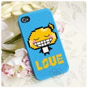 KEC DIY iPhone 4 Case Cross Stitch Case, Mushroom Love